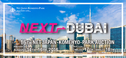 16th NET JAPAN-KOMEHYO-PARK 拍卖会